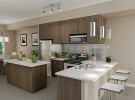 Interior Kitchen 3D Renderings