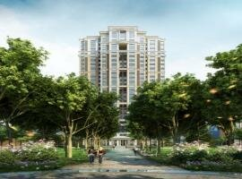 Residential Apartment High Rise Rendering